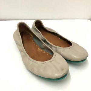 Tieks Ballet Flats Feather Grey Size 8